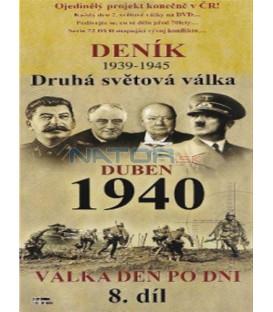 Deník - Druhá světová válka (8. díl) - duben 1940 (Second World War Diary (1939-1945) DVD
