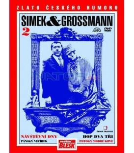 Šimek & Grossmann - Návštěvní dny, Hop dva tři 2  DVD