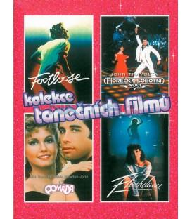 Kolekce tanečních filmů 4 DVD