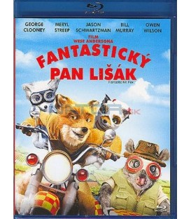 Fantastický pan Lišák-Blu-ray (Fantastic Mr. Fox)