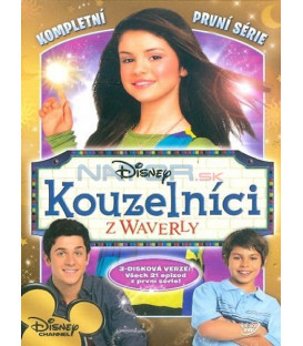 Kouzelníci z Waverly - 1.série 3DVD (Wizards of Waverly Place Complete 1st Season)