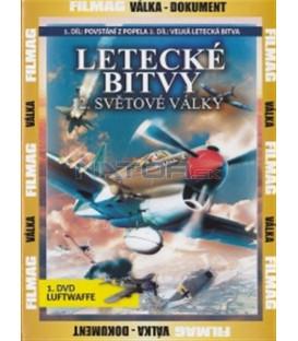 Letecké bitvy 2. světové války - 1. DVD - Luftwaffe (War Birds of World War II - The Luftwaffe)