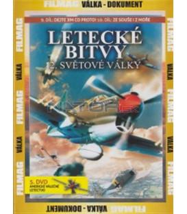 Letecké bitvy 2. světové války - 5. DVD - Americké válečné letectvo (War Birds of World War II - U.S. Army & Navy Air Forces)