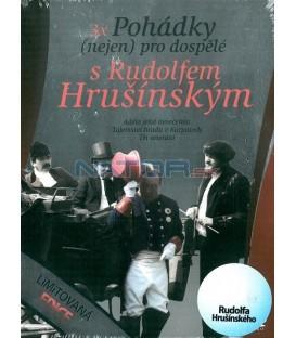 Pohádky (nejen) pro dospělé s Rudolfem Hrušínským 3DVD