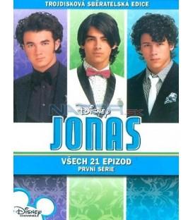 Jonas 1. séria 3DVD (Jonas Complete 1st Season)