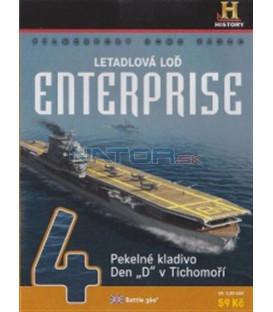 Letadlová loď Enterprise 4 (Battle 360) DVD