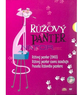 Kolekce: Růžový panter 3 DVD