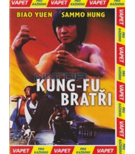 Kung-fu bratři (Za jia xiao zi) DVD