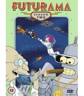 Futurama,2. sezóna, 4DVD, 19 dílů (Futurama: Complete Season 2)