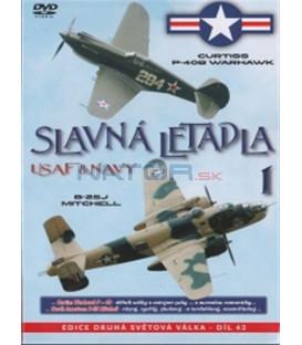 Slavná letadla USAF a NAVY 1 (Famous Planes: The P-40 / The B-25) DVD