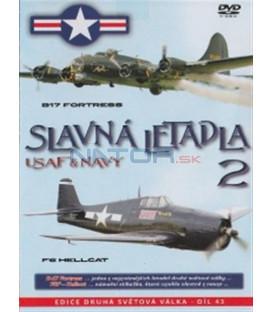 Slavná letadla USAF a NAVY 2 (Famous Planes: B17 Flying Fortress / The F-6) DVD
