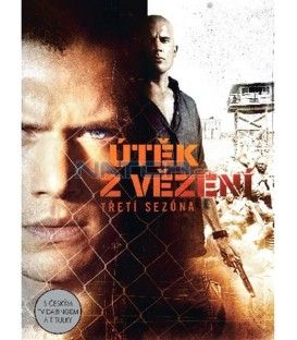 Prison Break :Útěk z vězení- 3.sezona, 3 DVD, 13 dílů (Prison Break)