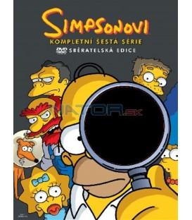 Simpsonovi 6.sezona, 4 DVD, 25 dílů