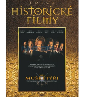 Tři mušketýři-Edice historické filmy (The Three Musketeers) DVD