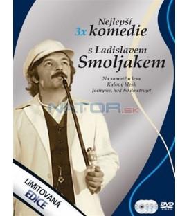 Nejlepší 3x komedie s Ladislavem Smoljakem 3 DVD