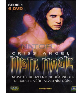 Mistr Magie: Criss Angel /6 DVD/(Criss Angel Mindfreak)