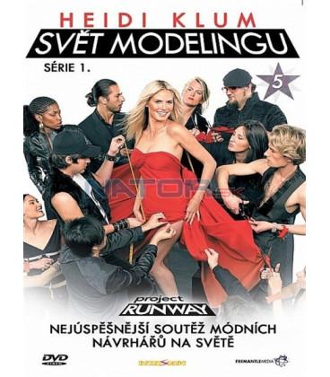 Heidi Klum - Svět modelingu - série 1. - disk 5(Project Runway)