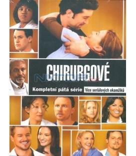 Chirurgové (5. série) 7 DVD(Greys Anatomy (Season 5) 7 DVD)