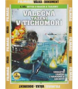 Válečná tažení v Tichomoří - 5. DVD - Bitva o Makin a Tarawu (Campaigns in the Pacific: Battle for Makin & Tarawa)