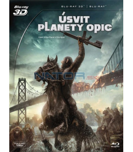 Úsvit planety opic (Dawn of the Planet of the Apes) - Blu-ray 3D + 2D