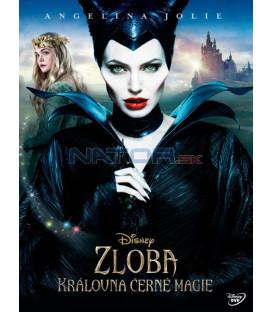 Zloba - Královna černé magie (Maleficent) DVD