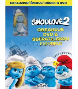 Šmoulové 2 (DVD + figurka Šmoulinka) DVD