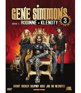 Gene Simmons: Rodinné klenoty - DVD 3 (Gene Simmons: Family Jewels) DVD