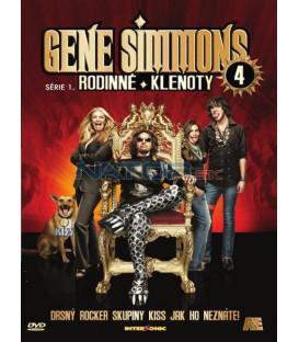 Gene Simmons: Rodinné klenoty - DVD 4 (Gene Simmons: Family Jewels) DVD