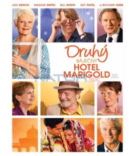 Druhý báječný hotel Marigold (The Second Best Exotic Marigold Hotel) DVD