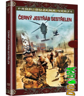 Černý jestřáb sestřelen (Black Hawk Down) DVD (knižní edice)