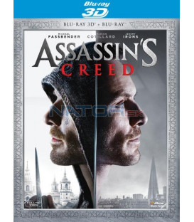 Assassins Creed 2016 - 3D + 2D Blu-ray