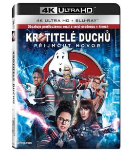 Krotitelé duchů 3 (Ghostbusters 3 - 2016) UHD+BD - 2 x Blu-ray