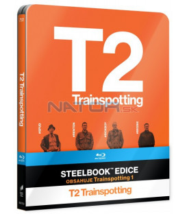 T2 TRAINSPOTTING + T1 TRAINSPOTTING - Blu-ray STEELBOOK (2 BD)