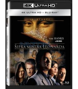 Šifra mistra Leonarda (The Da Vinci Code) UHD+BD - 2 x Blu-ray