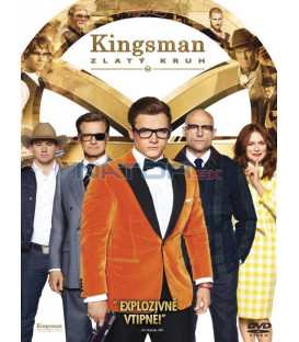 KINGSMAN: ZLATÝ KRUH (Kingsman: The Golden Circle)  DVD