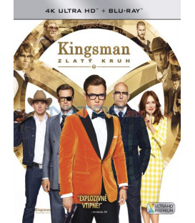 KINGSMAN: ZLATÝ KRUH (Kingsman: The Golden Circle) UHD+BD - 2 x Blu-ray