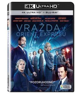 VRAŽDA V ORIENT EXPRESSU 2017 (Murder on the Orient Express) (4K Ultra HD) UHD+BD - 2 x Blu-ray
