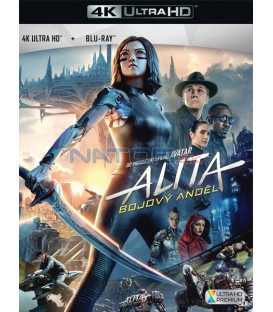 Alita: Bojový Anděl 2018 (Alita: Battle Angel) (4K Ultra HD) - UHD+BD - 2 x Blu-ray