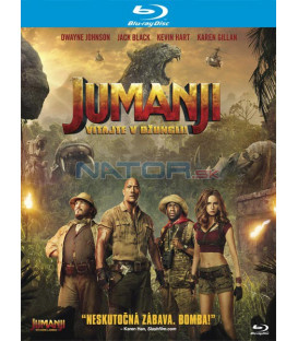 JUMANJI: VÍTEJTE V DŽUNGLI! (Jumanji: Welcome to the Jungle) BLU-RAY (SK obal)