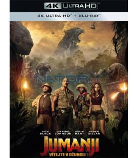 JUMANJI: VÍTEJTE V DŽUNGLI! 2017 (Jumanji: Welcome to the Jungle) (4K Ultra HD) - UHD+BD - 2 x Blu-ray (SK obal)