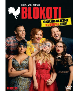 Blokoti 2018 (Blockers) DVD (SK OBAL)