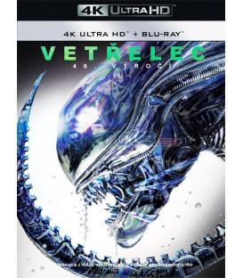 VETŘELEC 1979 (Alien) Výroční edice ke 40. výročí (4K Ultra HD) - UHD Blu-ray + Blu-ray