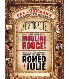 3 DVD Austrálie + Moulin Rouge + Romeo a Julie (Baz Luhrmann kolekce)- 3 DVD + CD