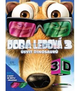 Doba ledová 3: Úsvit dinosaurů - 2D + 3D verze + 4x brýle