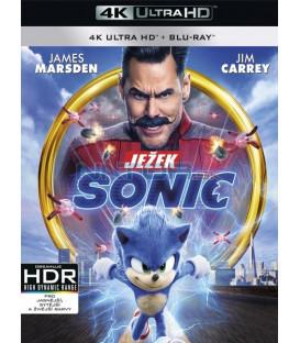 Ježko Sonic 2020 (Sonic the Hedgehog) (4K Ultra HD) - UHD Blu-ray + Blu-ray