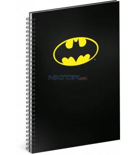 Špirálový blok Batman – Classic, linajkovaný, A4