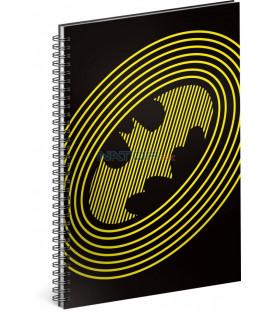 Špirálový blok Batman – Circles, linajkovaný, A5