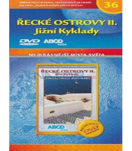 Nejkrásnější místa světa 36 - Řecké ostrovy II. - Jižní Kyklady (Cyclades Sud: Bleu, blanc, noir) DVD