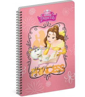 Špirálový blok Princezné – Book, A5, linajkovaný