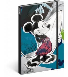 Notes Mickey, linajkovaný, 13 x 21 cm